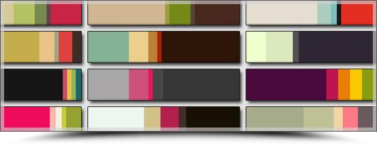 Choisir les couleurs de son blog