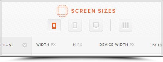 Tailles de tous les écrans de téléphones et tablettes