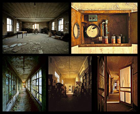 Ellis Island par le photographe Stephen Wilkes