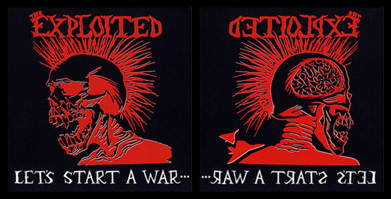 The Exploited Let's Start a War