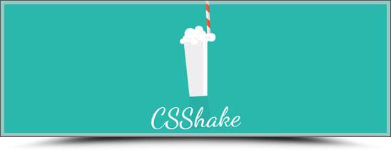 CSShake : animations CSS3