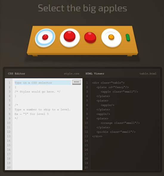 Les sélecteur CSS avec CSS Diner