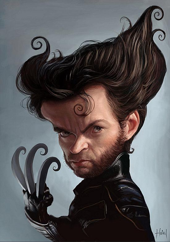 Hugh Jackman (Wolverine) par Tiago Hoisel