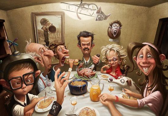 Meeting with girlfriend's family! par Tiago Hoisel