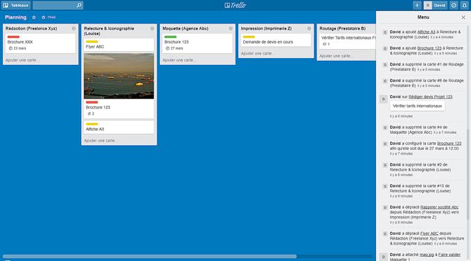 Trello : gestion de projet en mode workflow